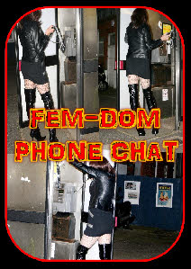 Live UK fem-dom phone chat