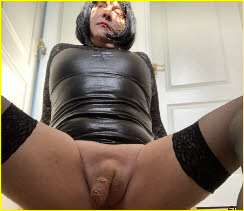 Sissy Abagail displays limp manhood